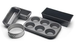 metal pots, pans and baking sheets
