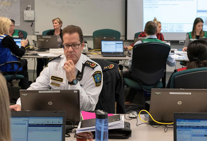 Photo of Halton Region Paramedic Services Deputy Chief.