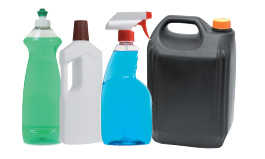 Household cleaners, bleach, pool chemicals