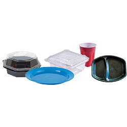 plastic containers and packaging