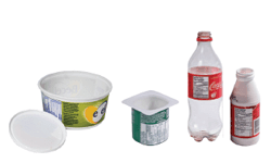 plastic food and beverage containers